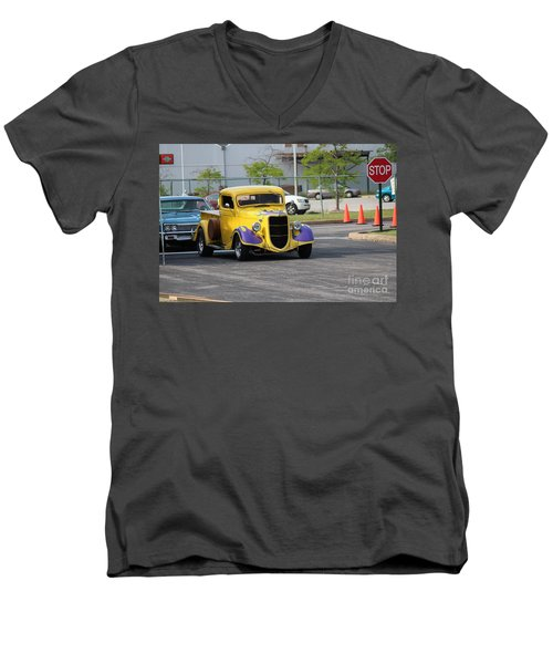 A Classic Truck Men's V-Neck T-Shirt