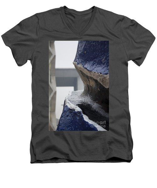 A Crack In The Panorama Men's V-Neck T-Shirt