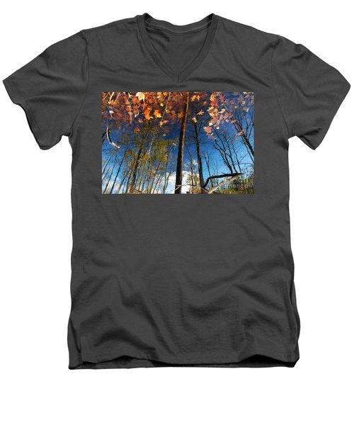 A Different Side Of Autumn Men's V-Neck T-Shirt