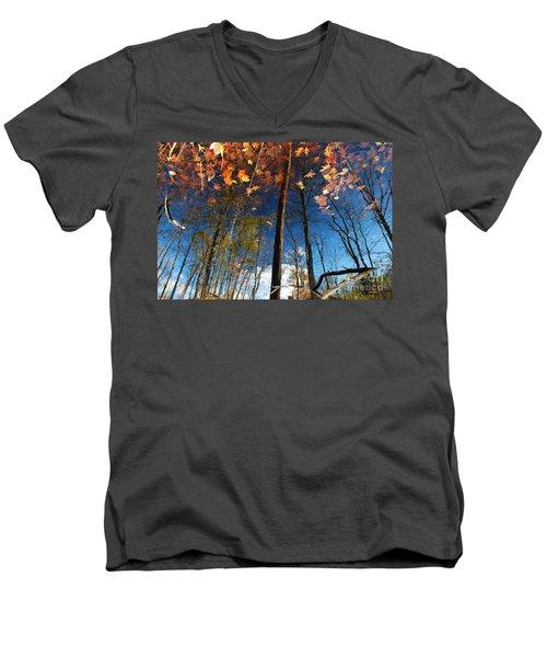 A Different Side Of Autumn Men's V-Neck T-Shirt