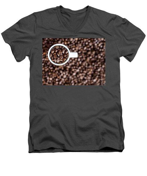 A Familiar Blend Men's V-Neck T-Shirt by Aaron Aldrich