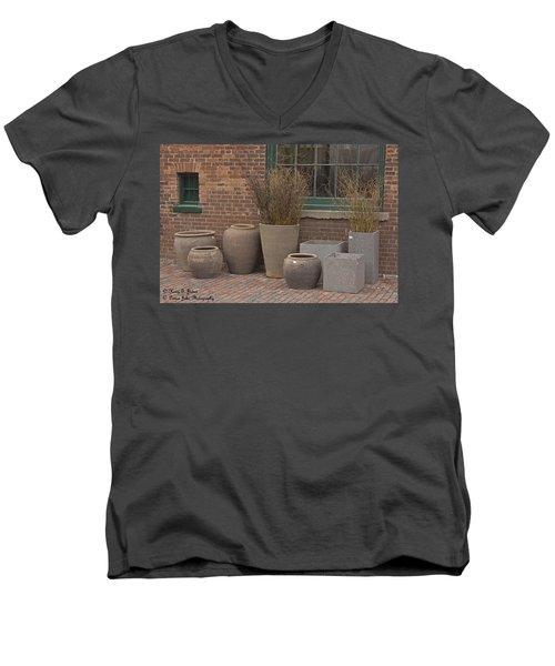 A Family Portrait Men's V-Neck T-Shirt