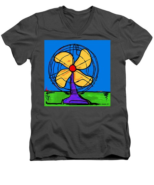 A Fan Of Color Men's V-Neck T-Shirt