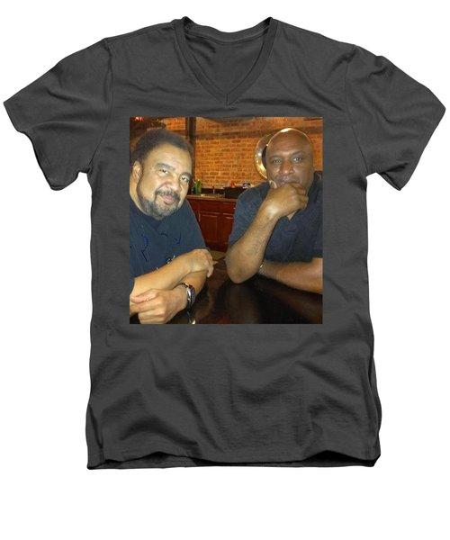 A Friend Mr. George Duke Men's V-Neck T-Shirt