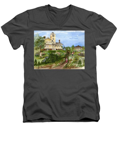 A Garden For All Ages Men's V-Neck T-Shirt