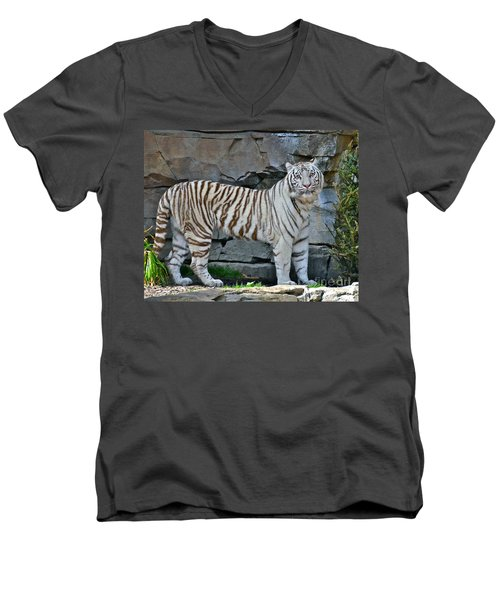 A Magnificent Creature Men's V-Neck T-Shirt
