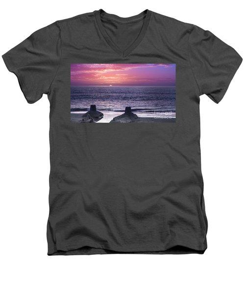 A Merman I Should Turn To Be Men's V-Neck T-Shirt