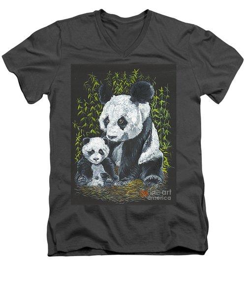 A Mothers Devotion Men's V-Neck T-Shirt