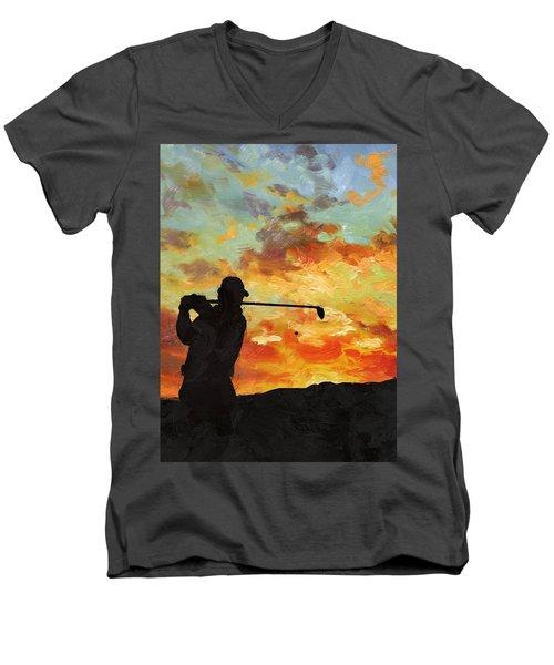 A New Dawn Men's V-Neck T-Shirt