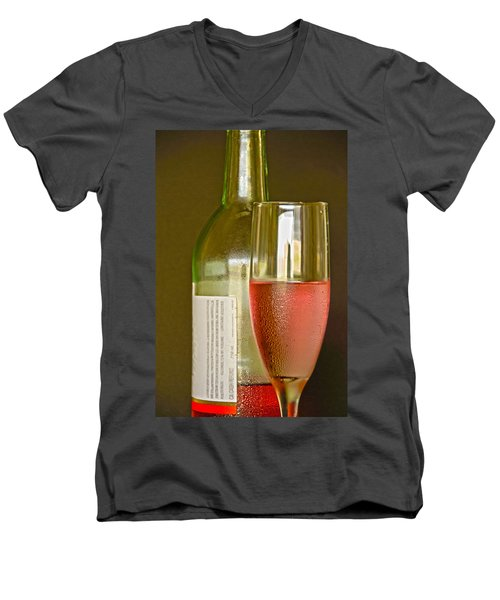 A Nice Glass Of Wine Men's V-Neck T-Shirt