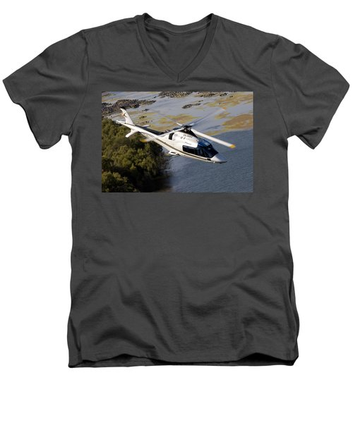 A Paining Men's V-Neck T-Shirt