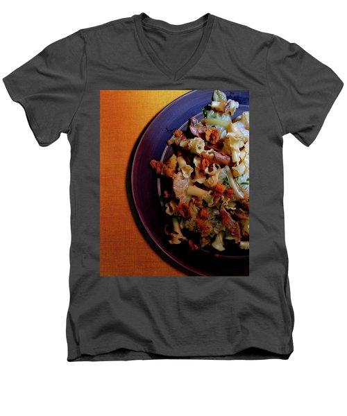 A Plate Of Pasta Men's V-Neck T-Shirt