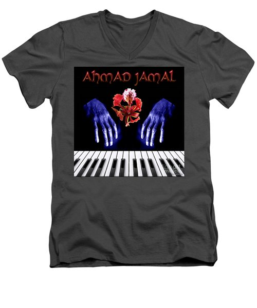 Ahmad Jamal Men's V-Neck T-Shirt
