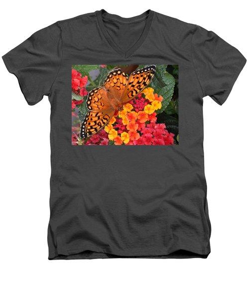 A Quick Snack Men's V-Neck T-Shirt