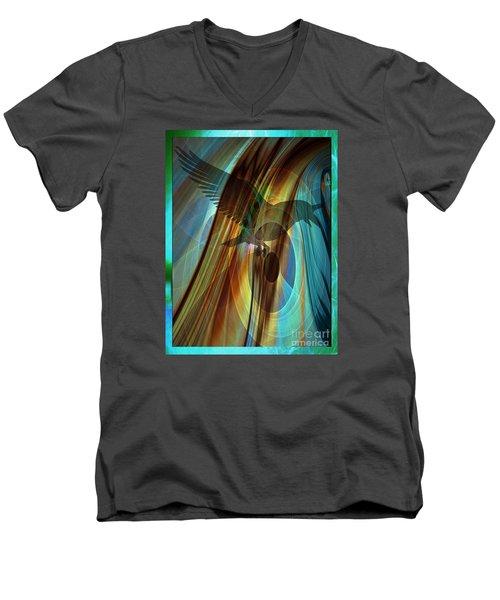 A Raven's Eye Men's V-Neck T-Shirt