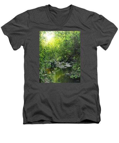 A Road Less Traveled Men's V-Neck T-Shirt