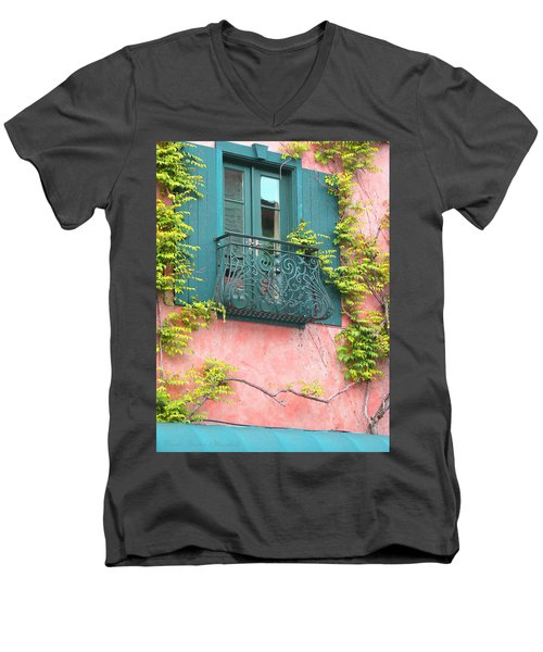 Men's V-Neck T-Shirt featuring the photograph Room With A View by Brooks Garten Hauschild