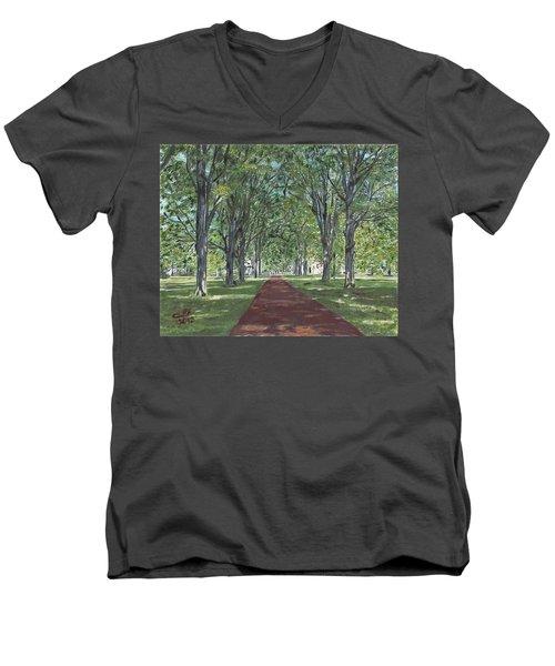 Washington Crossing State Park Men's V-Neck T-Shirt