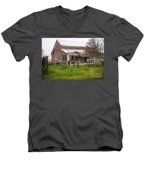 Abandon Men's V-Neck T-Shirt