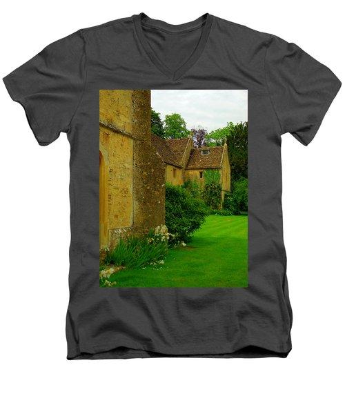 Abbey Men's V-Neck T-Shirt