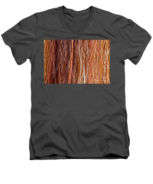 Ablaze Men's V-Neck T-Shirt by Michelle Twohig