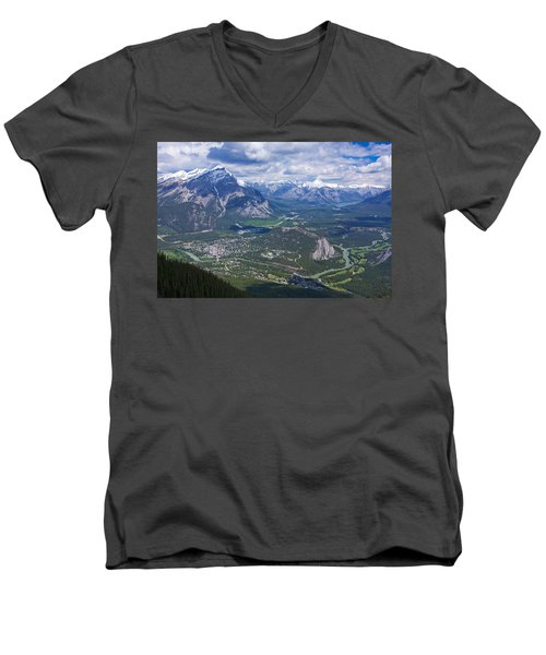 Above Banff Men's V-Neck T-Shirt