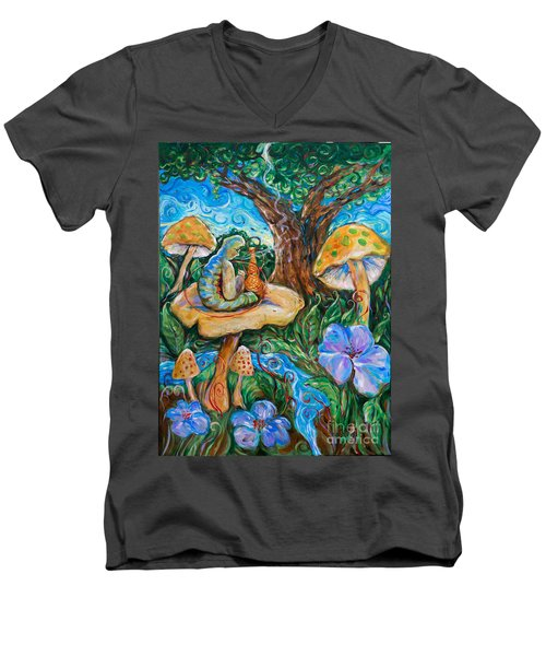 Absolem From Wonderland Men's V-Neck T-Shirt