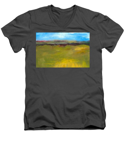 Abstract Landscape - The Highway Series Men's V-Neck T-Shirt