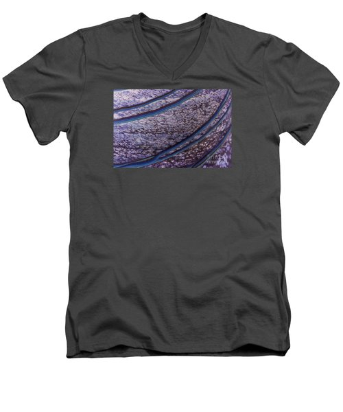 Abstract Lines. Men's V-Neck T-Shirt