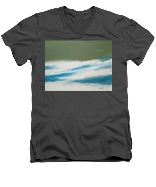 Abstract No. 1 Men's V-Neck T-Shirt