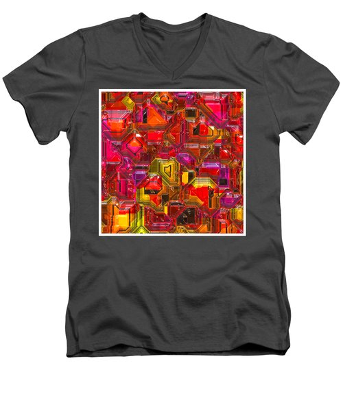 Abstractions... Men's V-Neck T-Shirt