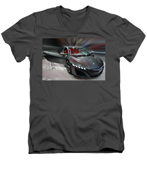 Acura Nsx Concept 2013 Men's V-Neck T-Shirt
