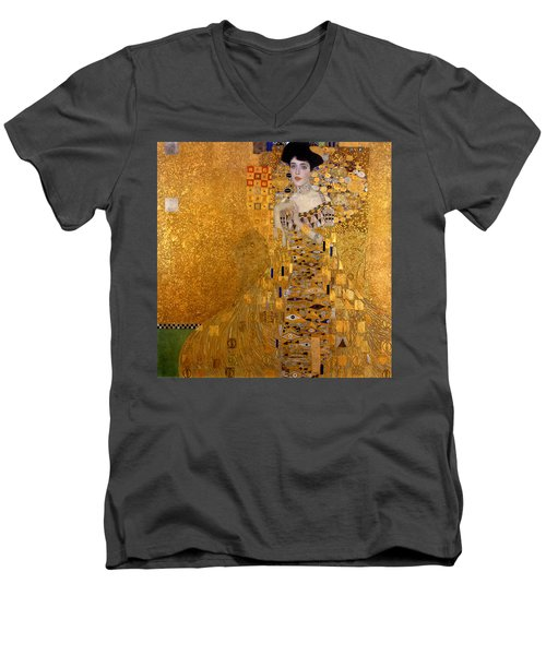 Adele Bloch Bauers Portrait Men's V-Neck T-Shirt