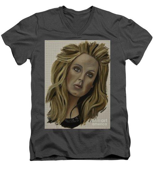 Adele Men's V-Neck T-Shirt