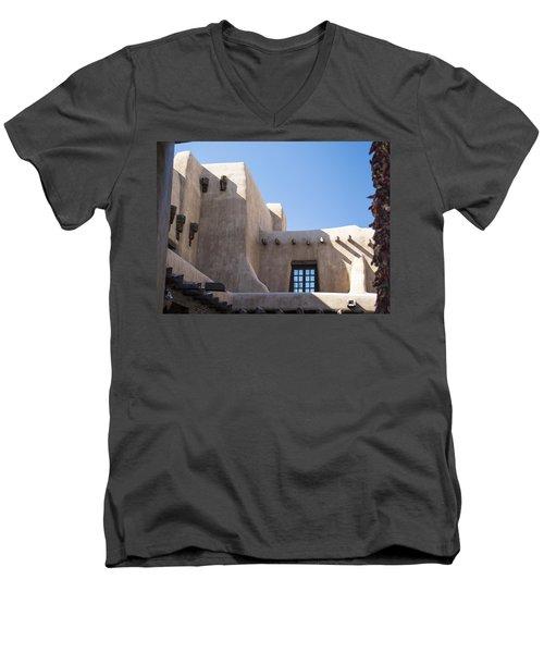 Adobe Sky Men's V-Neck T-Shirt