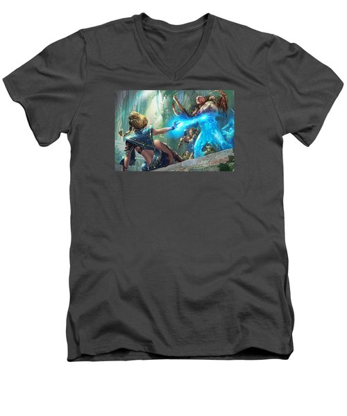 Aetherize Men's V-Neck T-Shirt