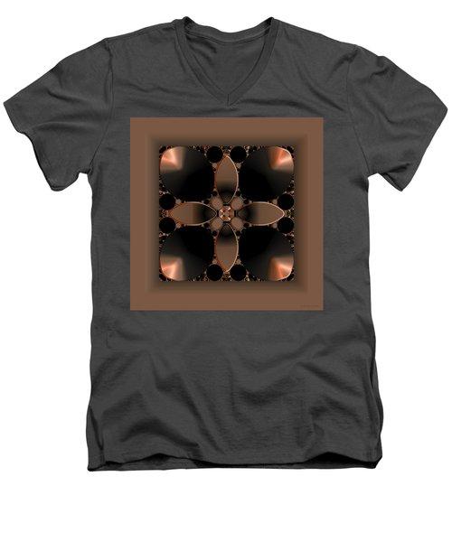 Affinity 2 Men's V-Neck T-Shirt by Judi Suni Hall