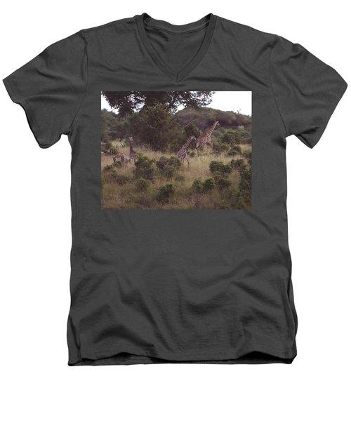 Africa Dream Men's V-Neck T-Shirt