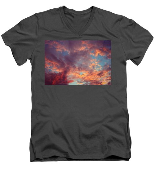 After The Rain Men's V-Neck T-Shirt by Mary-Lee Sanders
