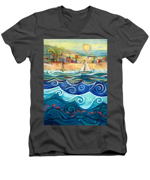 Afternoon Sail Men's V-Neck T-Shirt