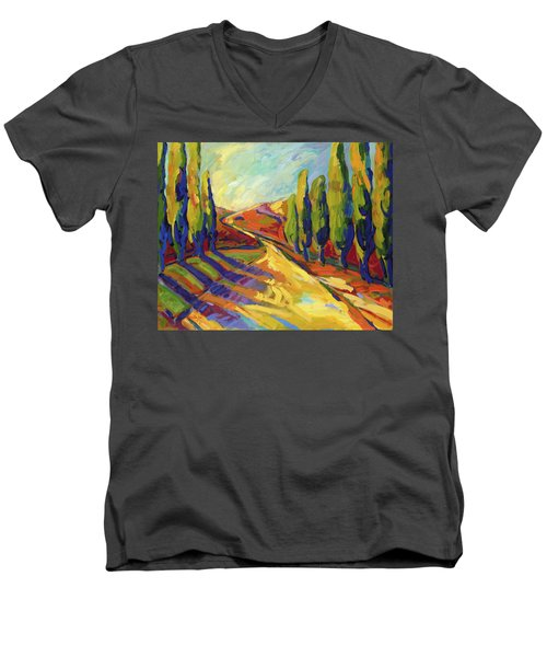Afternoon Shadows Men's V-Neck T-Shirt
