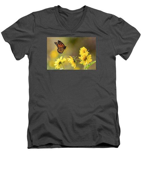 Air Monarch Men's V-Neck T-Shirt