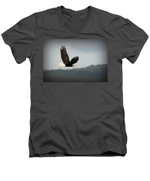 Alaskan Flight Men's V-Neck T-Shirt