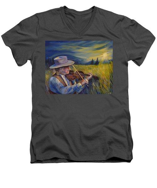Alberta Lullaby Men's V-Neck T-Shirt