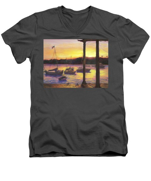 Algarve Sunset Men's V-Neck T-Shirt