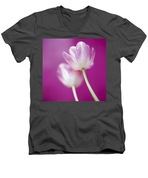 Alike Men's V-Neck T-Shirt by Lana Enderle