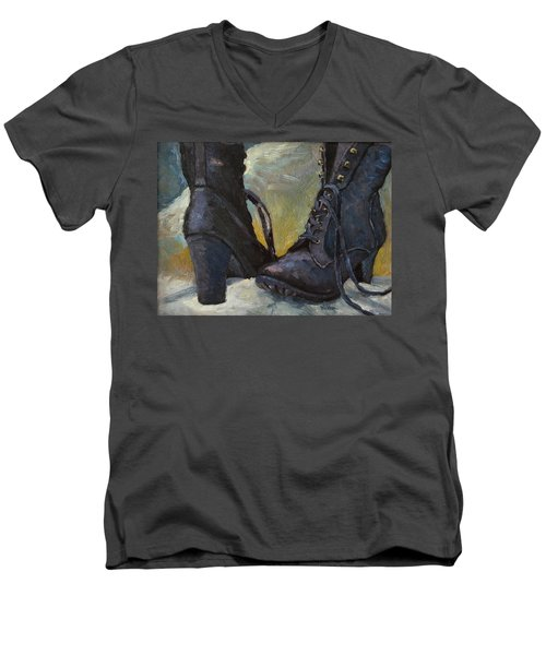 Ali's Boots Men's V-Neck T-Shirt