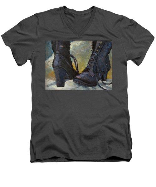 Ali's Boots Men's V-Neck T-Shirt