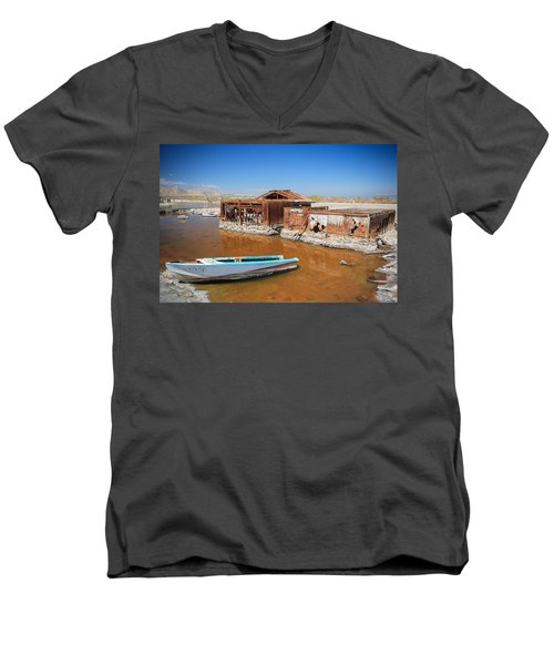 All Aboard Men's V-Neck T-Shirt
