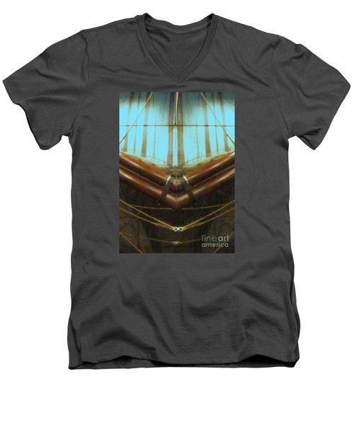 All Fore Naut Men's V-Neck T-Shirt